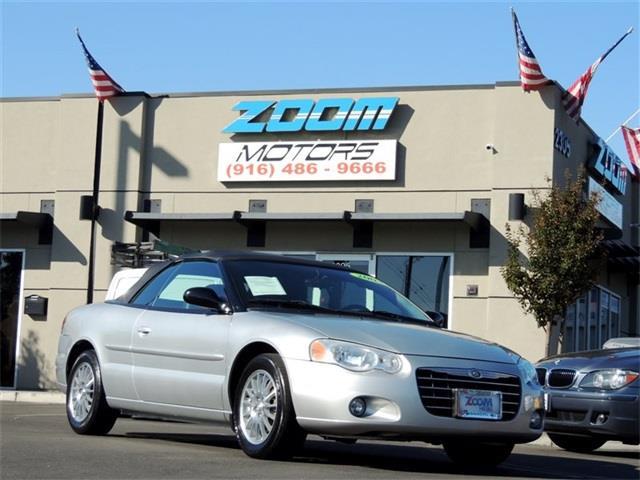 Chrysler sebring for sale in sacramento ca for Zoom motors sacramento ca