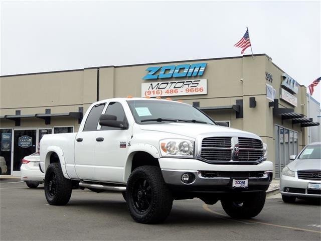 2008 dodge ram pickup 2500 diesel truck 6 7l cummins in for Zoom motors sacramento ca