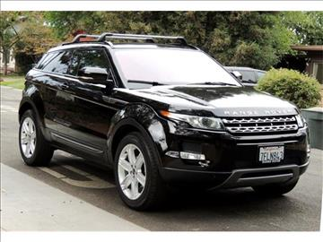 land rover range rover evoque coupe for sale. Black Bedroom Furniture Sets. Home Design Ideas