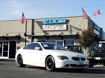 2007 BMW 6 Series for sale in Sacramento, CA