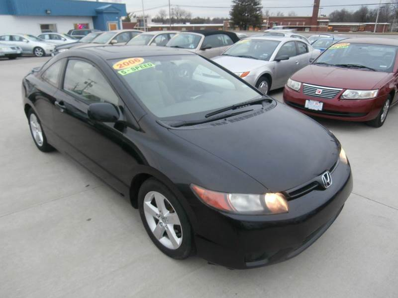 2006 honda civic ex 2dr coupe w manual in lexington ky. Black Bedroom Furniture Sets. Home Design Ideas