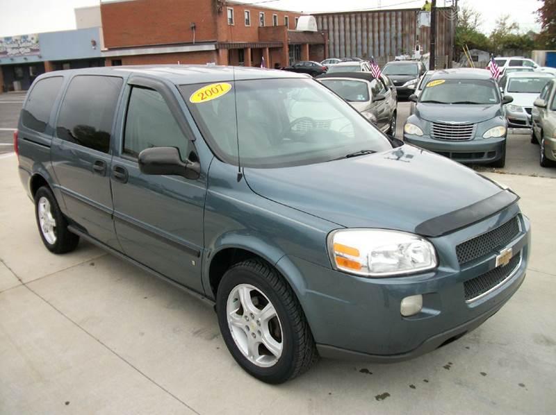 2007 chevrolet uplander ls 4dr extended mini van in. Black Bedroom Furniture Sets. Home Design Ideas