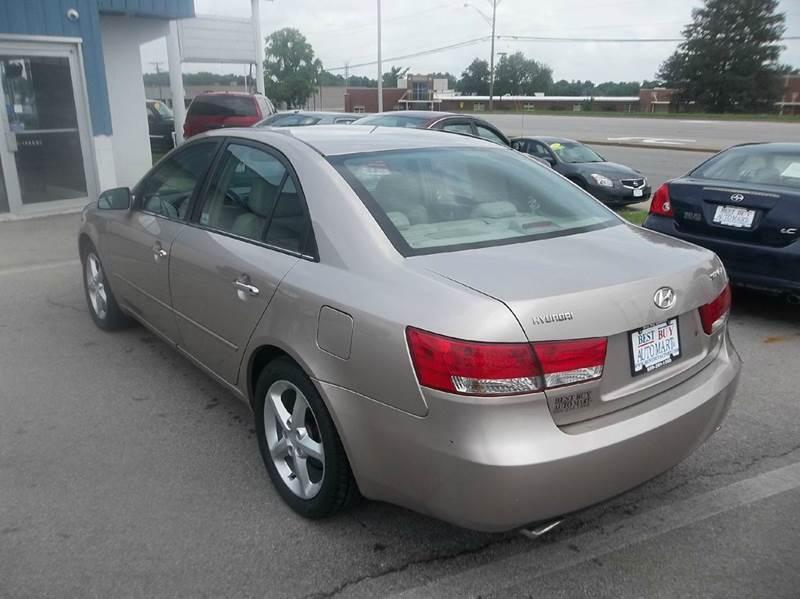 2006 hyundai sonata gls v6 4dr sedan in lexington ky best buy auto mart for Hyundai sonata 2006 interior