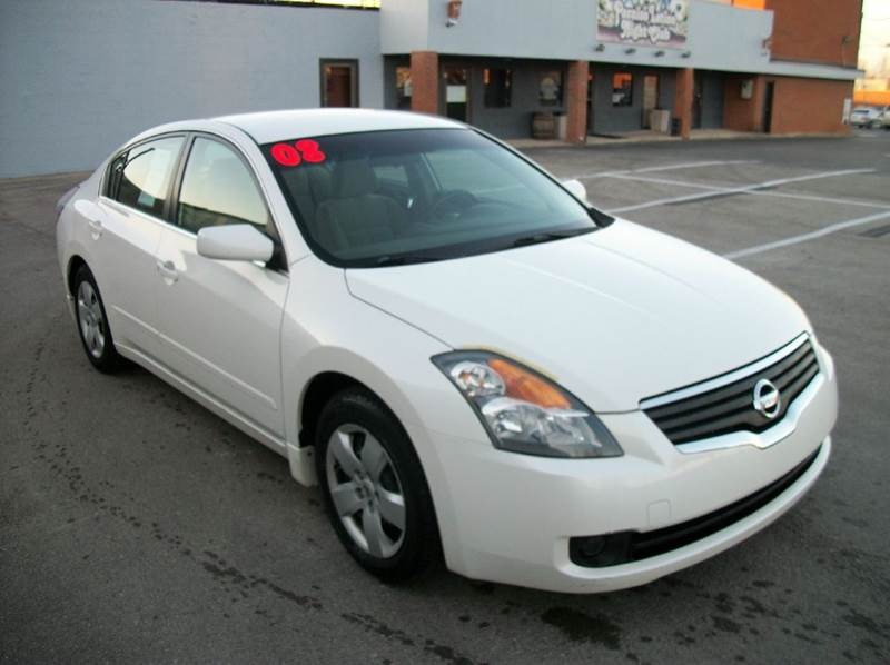 2008 nissan altima 2 5 s 4dr sedan cvt in lexington ky best buy auto mart. Black Bedroom Furniture Sets. Home Design Ideas