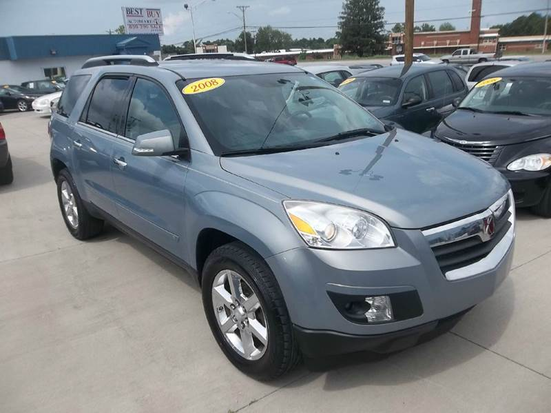 2008 Saturn Outlook Xr 4dr Suv W Touring Package In