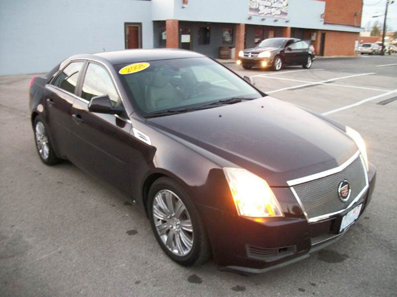 2008 cadillac cts awd 3 6l v6 4dr sedan in lexington ky. Black Bedroom Furniture Sets. Home Design Ideas