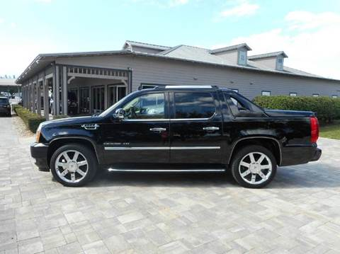 2011 cadillac escalade ext for sale florida. Black Bedroom Furniture Sets. Home Design Ideas