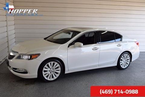 2014 Acura RLX for sale in Mckinney, TX