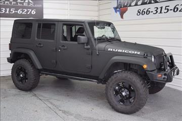 2012 Jeep Wrangler Unlimited for sale in Mckinney, TX
