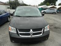 2010 DODGE GRAND CARAVAN black abs brakesadjustable foot pedalsair conditioningalloy wheelsam