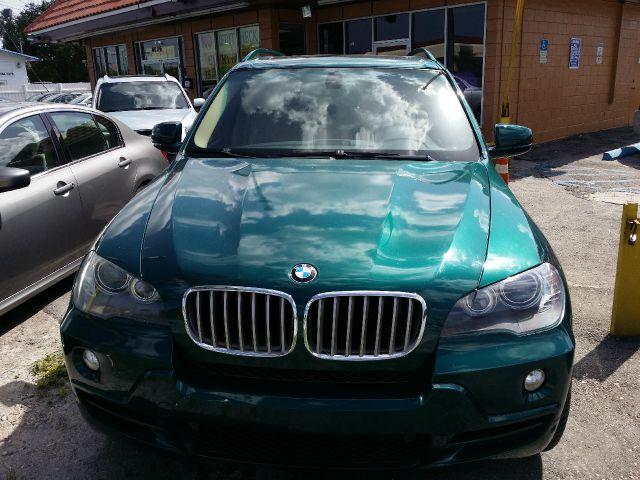 2007 BMW X5 48I AWD 4DR SUV green 2-stage unlocking - remote 3rd row seat abs - 4-wheel air fi
