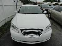 2012 CHRYSLER 200 white abs brakesair conditioningamfm radioanti-brake system 4-wheel absbod