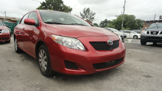 2009 TOYOTA COROLLA LE 4-SPEED AT red abs brakesair conditioningamfm radioanti-brake system 4