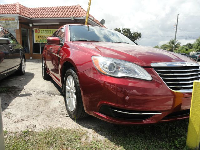 2013 CHRYSLER 200 TOURING red abs brakesair conditioningalloy wheelsamfm radioanti-brake syst