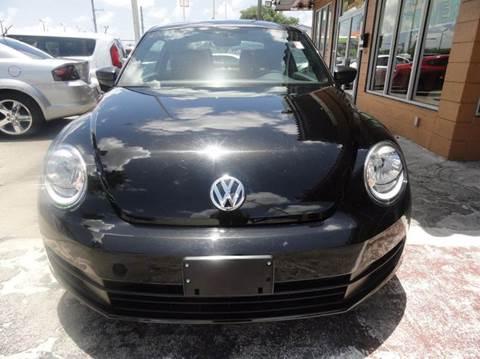 2013 Volkswagen Beetle for sale in Miramar FL