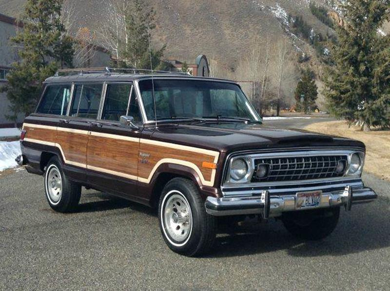 1978 jeep grand wagoneer in hailey id for sale by owner. Black Bedroom Furniture Sets. Home Design Ideas
