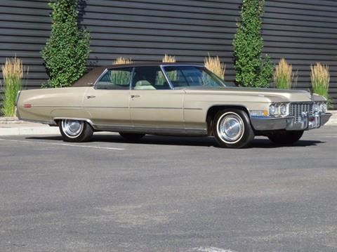 1972 Cadillac DeVille for sale in Hailey, ID