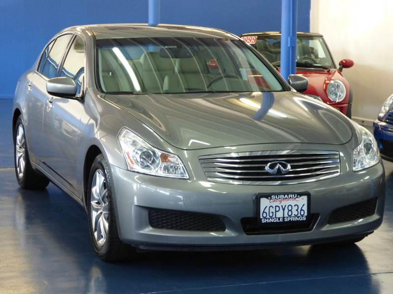 2009 infiniti g37 sedan journey 4dr sedan in sacramento ca. Black Bedroom Furniture Sets. Home Design Ideas