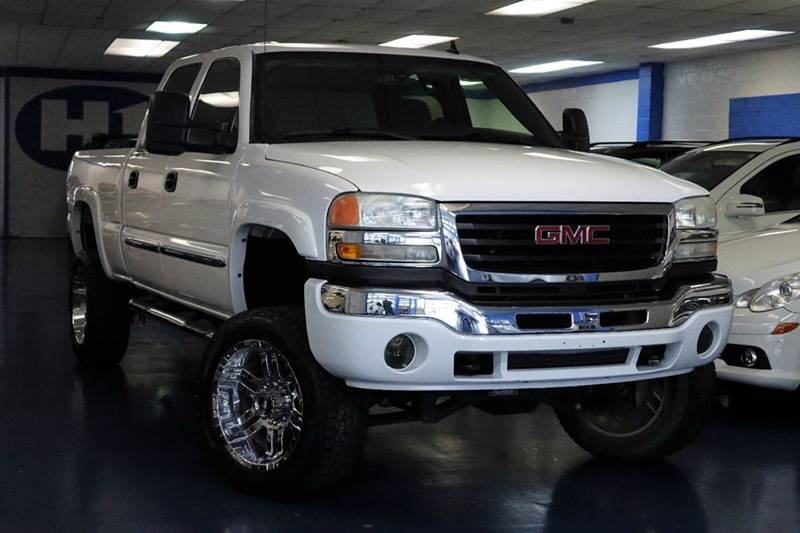 2006 gmc sierra 2500hd sle1 4dr crew cab 4wd lb in. Black Bedroom Furniture Sets. Home Design Ideas