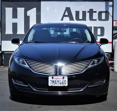 2016 Lincoln MKZ for sale in Sacramento, CA