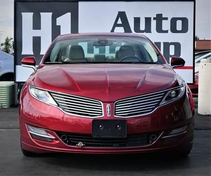 2014 Lincoln MKZ Hybrid for sale in Sacramento, CA