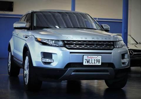 2012 Land Rover Range Rover Evoque for sale in Sacramento, CA