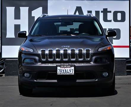 2015 Jeep Cherokee for sale in Sacramento, CA