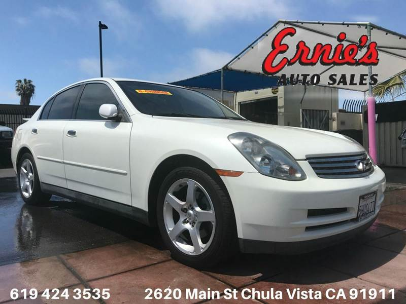 2004 Infiniti G35 Base Rwd 4dr Sedan w/Leather - Chula Vista CA