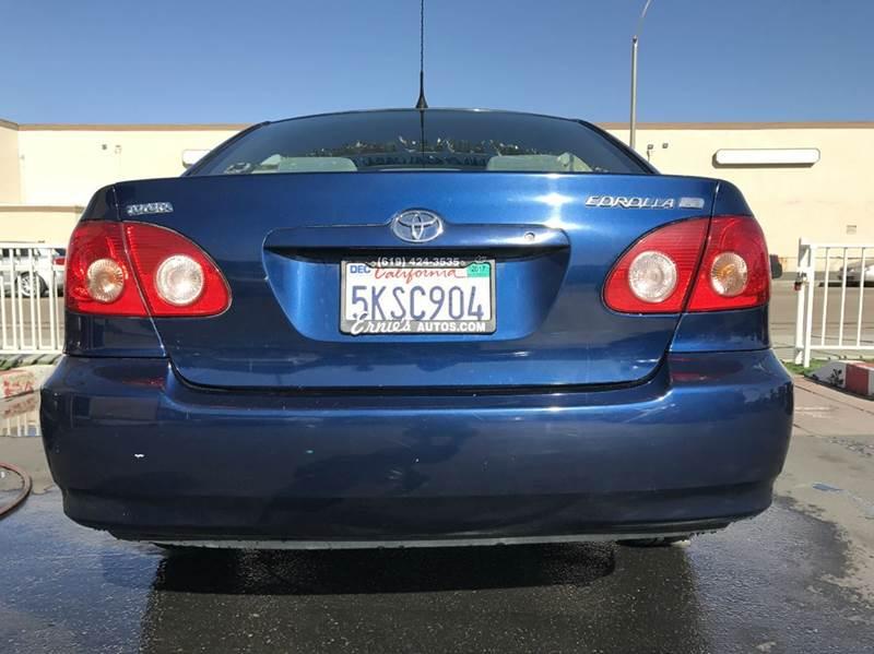 2005 Toyota Corolla LE 4dr Sedan - Chula Vista CA