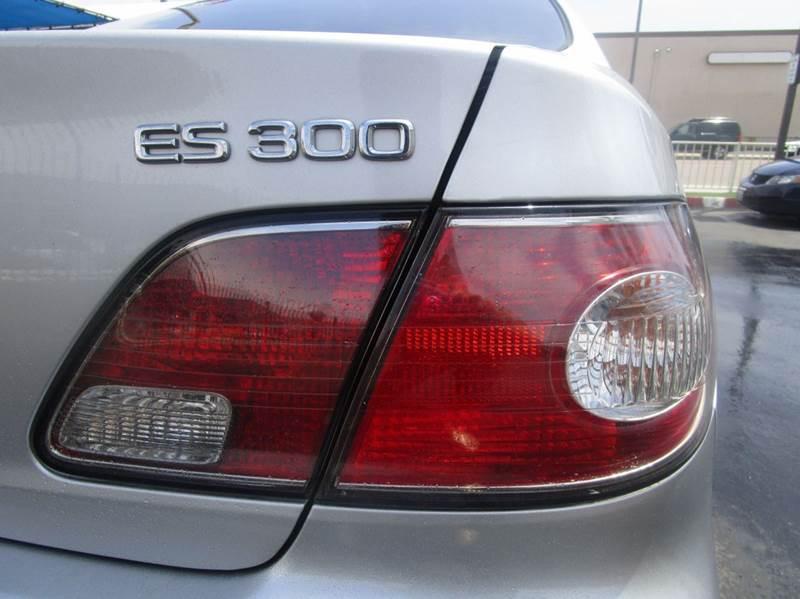 2003 Lexus ES 300 4dr Sedan - Chula Vista CA