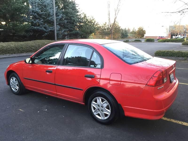 2005 Honda Civic Value Package 4dr Sedan - Portland OR