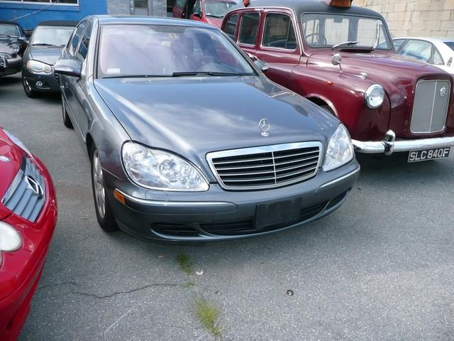 Document moved for 2005 mercedes benz s class s600