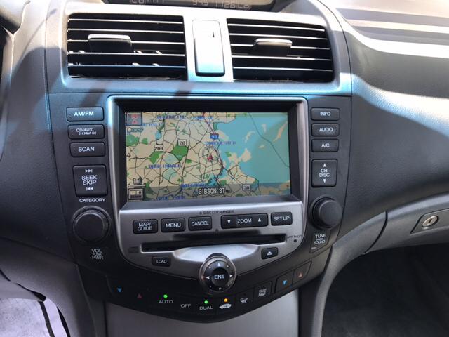 2007 Honda Accord EX L V 6 w/Navi 4dr Sedan (3L V6 5A) - Dorchester MA
