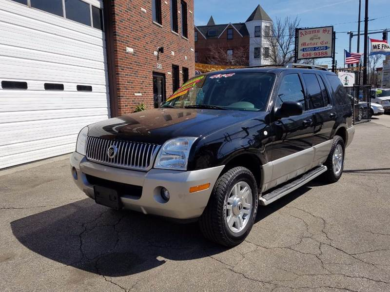 2003 mercury mountaineer base awd 4dr suv in dorchester ma Adams street motors