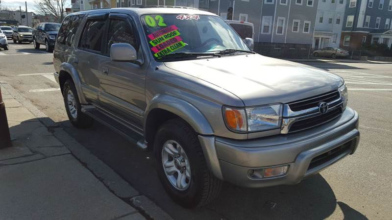 2002 toyota 4runner limited limited 4wd 4dr suv in Adams street motors