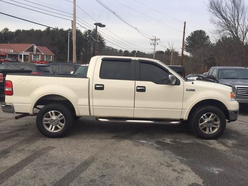 2007 ford f 150 lariat 4dr supercrew 4x4 styleside 5 5 ft sb in rowley ma d d auto sales llc. Black Bedroom Furniture Sets. Home Design Ideas