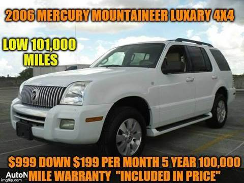 2006 Mercury Mountaineer for sale in Rowley, MA