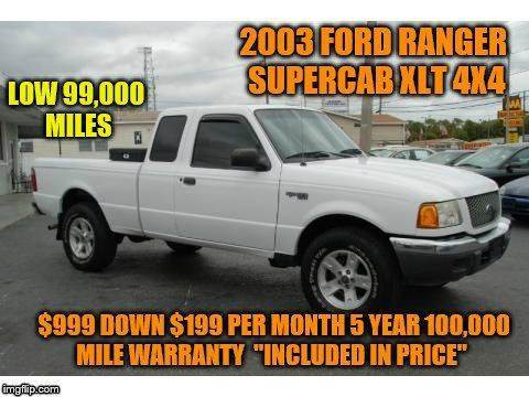 2003 Ford Ranger for sale in Rowley, MA