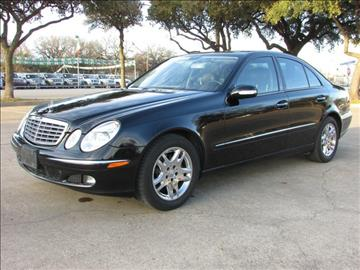 2006 Mercedes-Benz E-Class for sale in Fort Worth, TX