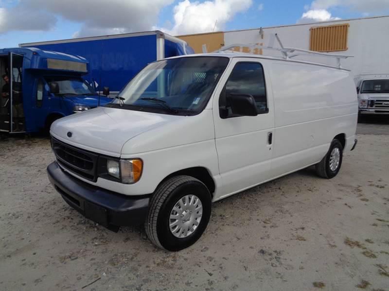 2002 ford e 150 econoline cargo van in hialeah fl miami. Black Bedroom Furniture Sets. Home Design Ideas