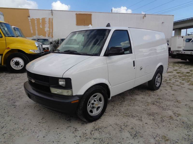 2005 chevrolet astro cargo van in hialeah fl miami truck. Black Bedroom Furniture Sets. Home Design Ideas