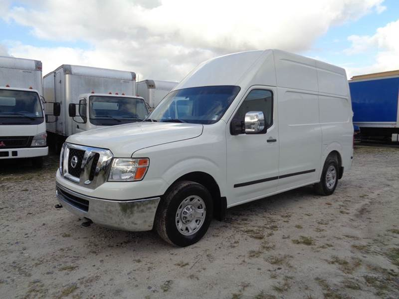 2013 nissan nv cargo 2500 hd s 3dr cargo van w high roof in hialeah fl miami truck center. Black Bedroom Furniture Sets. Home Design Ideas