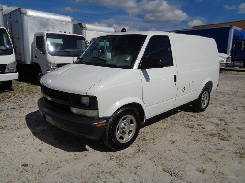 2003 chevrolet astro cargo van in hialeah fl miami truck. Black Bedroom Furniture Sets. Home Design Ideas