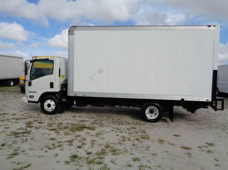 2008 Isuzu Npr Hd 16 Ft Box Truck Diesel Liftgate In