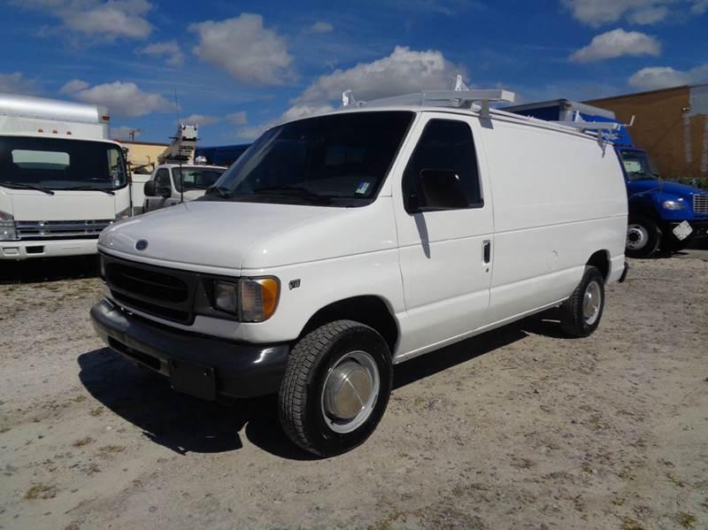 2000 ford e 250 econoline cargo van in hialeah fl miami. Black Bedroom Furniture Sets. Home Design Ideas