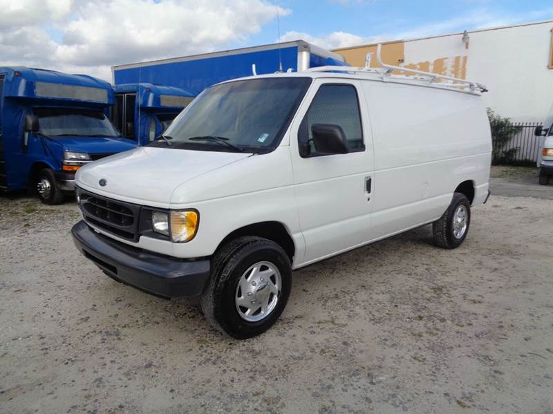 1999 ford e 250 econoline cargo van in hialeah fl miami. Black Bedroom Furniture Sets. Home Design Ideas