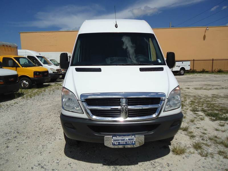 2500 170 wb extended high roof diesel cargo van. Black Bedroom Furniture Sets. Home Design Ideas