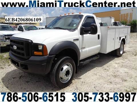 2006 Ford F-450 for sale in Hialeah, FL