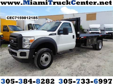 2012 Ford F-550 for sale in Hialeah, FL