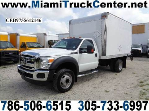2012 Ford F-450 for sale in Hialeah, FL